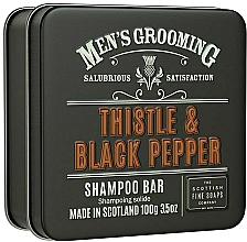 "Духи, Парфюмерия, косметика Шампунь для волос ""Чертополох и черный перец"" - Scottish Fine Soaps Mens Grooming Thistle & Black Pepper Shampoo Bar"