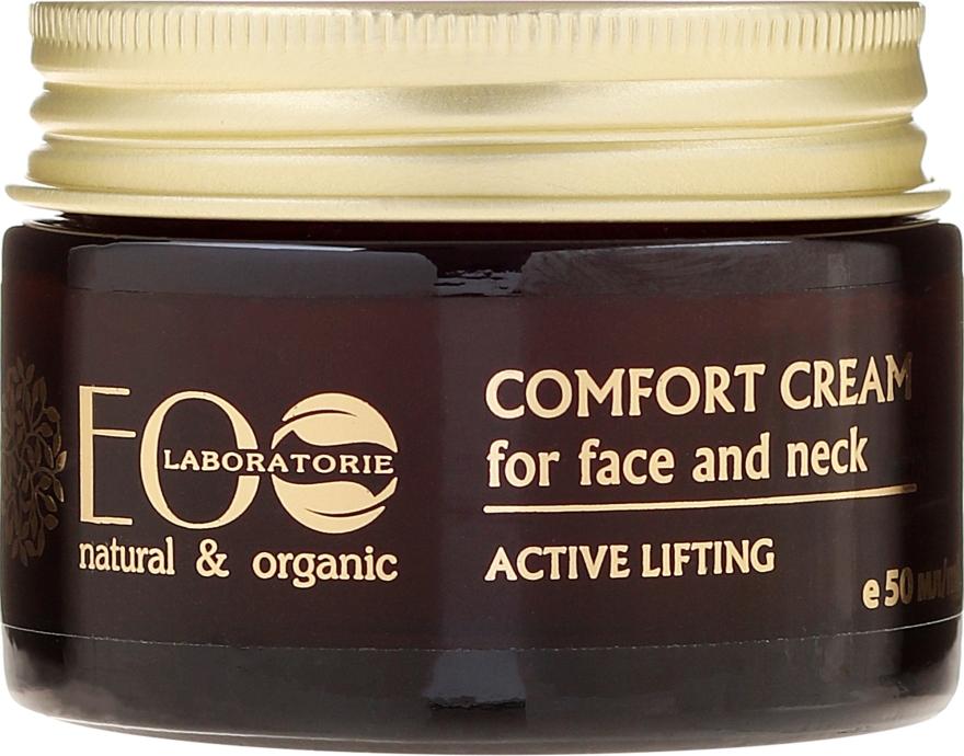 """Крем-комфорт для лица и шеи """"Активный лифтинг"""" - ECO Laboratorie Face Cream — фото N2"""