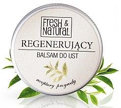 Духи, Парфюмерия, косметика Регенерирующий бальзам для губ - Fresh&Natural Lip Balm