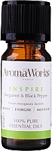 Духи, Парфюмерия, косметика Смесь эфирных масел - AromaWorks Inspire Essential Oil