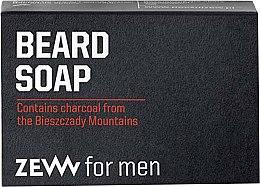 Духи, Парфюмерия, косметика Твердое мыло для ухода за бородой - Zew For Men Natural Beard Soap