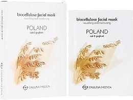 """Духи, Парфюмерия, косметика Тканевая маска """"Польша"""" - Calluna Medica Poland Nourishing And Moisturizing Biocellulose Facial Mask"""