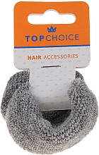 Духи, Парфюмерия, косметика Резинки для волос 2 шт, 66481, серые - Top Choice