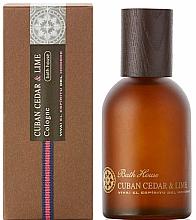 Духи, Парфюмерия, косметика Bath House Cuban Cedar & Lime - Одеколон