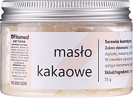 Духи, Парфюмерия, косметика Масло какао - Fitomed Cacao Butter