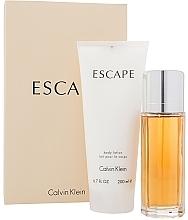 Духи, Парфюмерия, косметика Calvin Klein Escape For Women - Набор (edp/100ml + b/lot/200ml)