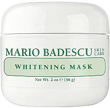 Духи, Парфюмерия, косметика Осветляющая маска для лица - Mario Badescu Whitening Face Mask