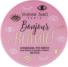 Духи, Парфюмерия, косметика Гидрогелевые патчи для глаз - Vivienne Sabo Bonjour, Beaute! Hydrogel
