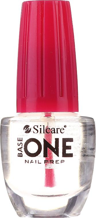 Бескислотный праймер для ногтей - Silcare Base One Nail Prep — фото N1