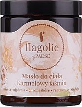 "Духи, Парфюмерия, косметика Масло для тела ""Карамельный Жасмин"" - Flagolie by Paese Caramel Jasmine"