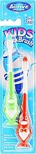 Духи, Парфюмерия, косметика Набор зубных щеток, 3-6 лет, пингвин, зеленая и красная - Beauty Formulas Kids Quick Brush