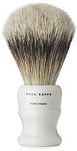 Духи, Парфюмерия, косметика Помазок для бритья, маленькая - Acca Kappa Shaving Brush Pure Silver Badger