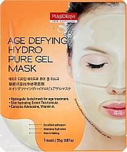Духи, Парфюмерия, косметика Маска гидрогелевая антивозрастная для лица - Purederm Age Defying Hydro Pure Gel Mask
