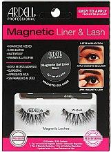 Духи, Парфюмерия, косметика Набор - Magnetic Lash & Liner Lash Wispies (eye/liner/2g + lashes/2pc)
