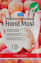 Духи, Парфюмерия, косметика Маска-перчатки для рук увлажняющая и питательная на основе персика - Purederm Moisture & Nourishing Hand Mask