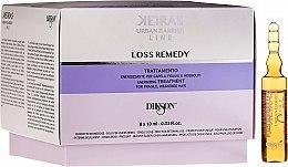 Духи, Парфюмерия, косметика Лосьон против выпадения волос - Dikson Keiras Urban Barrier Line Loss Remedy