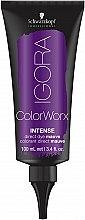 Духи, Парфюмерия, косметика Краситель для волос прямого действия - Schwarzkopf Professional Igora ColorWorx Intense