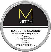 Духи, Парфюмерия, косметика Помада для блеска волос со слабой фиксацией - Paul Mitchell Mitch Barber's Classic