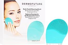 Духи, Парфюмерия, косметика Щетка для очистки лица, синяя - Dermofuture Technology