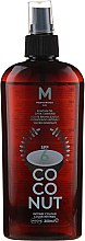 Духи, Парфюмерия, косметика Масло для загара - Mediterraneo Sun Coconut Suntan Oil Dark Tanning SPF6