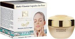 Духи, Парфюмерия, косметика Мультивитаминные капсулы для ухода за кожей лица - Health And Beauty Multi-Vitamin Capsules For Face