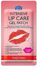 Духи, Парфюмерия, косметика Гидрогелевый патч для губ - Purederm Intensive Lip Care Gel Patch