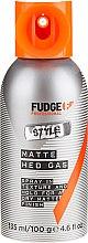 Духи, Парфюмерия, косметика Фиксирующий матовый спрей - Fudge Matte Hed Gas Mattes Spray