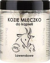 "Духи, Парфюмерия, косметика Козье молоко для ванны ""Лаванда"" - E-Fiore Lavender Bath Milk"