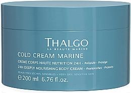 Духи, Парфюмерия, косметика Восстанавливающий насыщенный крем для тела - Thalgo Cold Cream Marine Deeply Nourishing Body Cream