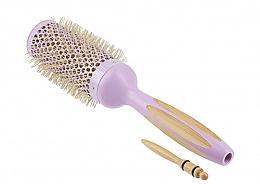 Духи, Парфюмерия, косметика Круглая щетка для волос - Ilu Hair Brush BambooM Round 43 mm