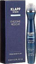 Духи, Парфюмерия, косметика Флюид для век - Klapp Men Eyezone Rescue Freshness Fluid