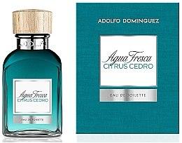 Духи, Парфюмерия, косметика Adolfo Dominguez Agua Fresca Citrus Cedro - Туалетная вода
