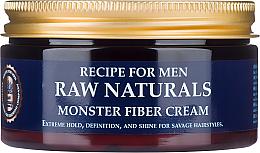 Духи, Парфюмерия, косметика Крем для волос - Recipe For Men RAW Naturals Monster Fiber Cream