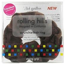 Духи, Парфюмерия, косметика Резинка для волос, коричневая - Rolling Hills Scrunchie Hair Rings Brown