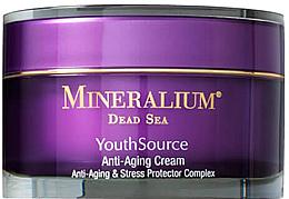 Духи, Парфюмерия, косметика Крем против старения кожи для лица - Minerallium Youth Source Anti-Aging Cream
