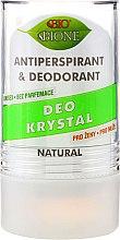 Духи, Парфюмерия, косметика Дезодорант - Bione Cosmetics Deo Krystal Antiperspirant&Deodorant