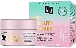 Духи, Парфюмерия, косметика Антиоксидантный дневной крем-гель для лица - AA My Beauty Power Niacynamid 5% Antioxidant Day Cream-Gel