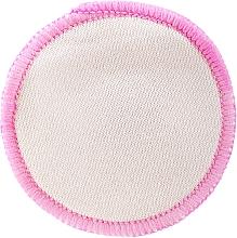 Духи, Парфюмерия, косметика Многоразовый диск для снятия макияжа, бело-розовый - Deni Carte