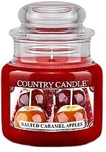 Духи, Парфюмерия, косметика Ароматическая свеча в банке - Country Candle Salted Caramel Apples