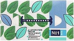 Духи, Парфюмерия, косметика Универсальные сухие салфетки с ароматом мяты - Bella Mint Wipes