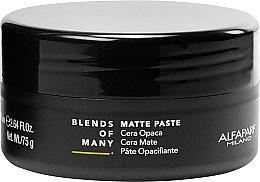 Духи, Парфюмерия, косметика Матовая паста для волос средней фиксации - Alfaparf Milano Blends Of Many Matte Paste