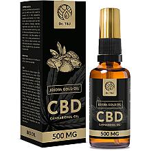 Духи, Парфюмерия, косметика Натуральное масло жожоба CBD 500mg - Dr. T&J Bio Oil