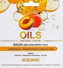 """Духи, Парфюмерия, косметика Маска для кожи вокруг глаз """"Суперпитание и восстановление"""" - BelKosmex Oils Natural Origin"""