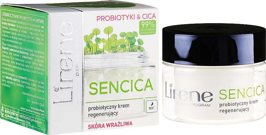 Пробиотический регенерирующий ночной крем для чувствительной кожи - Lirene Sencica — фото N1