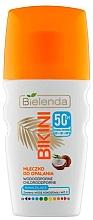 Духи, Парфюмерия, косметика Солнцезащитное кокосовое молочко для тела - Bielenda Bikini Coconut Milk SPF 50