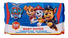 Духи, Парфюмерия, косметика Влажные салфетки, 56шт - Nickelodeon Paw Patrol Baby Wipes