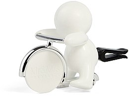 Mr&Mrs Fragrance Gino White Fresh Air - Ароматизатор для авто — фото N1