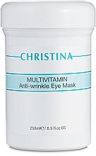 Духи, Парфюмерия, косметика Мультивитаминная маска для зоны вокруг глаз - Christina Multivitamin Anti-Wrinkle Eye Mask