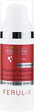 Духи, Парфюмерия, косметика Антиоксидантный увлажняющий и успокаивающий крем для лица - Bielenda Professional Ferul-X Antioxidant Moisturizing & Calming Face Cream