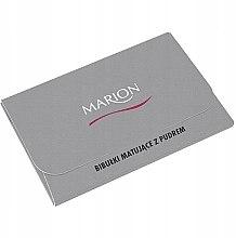 Духи, Парфюмерия, косметика Матирующие салфетки для лица, 50шт - Marion Mat Express Oil Control Paper